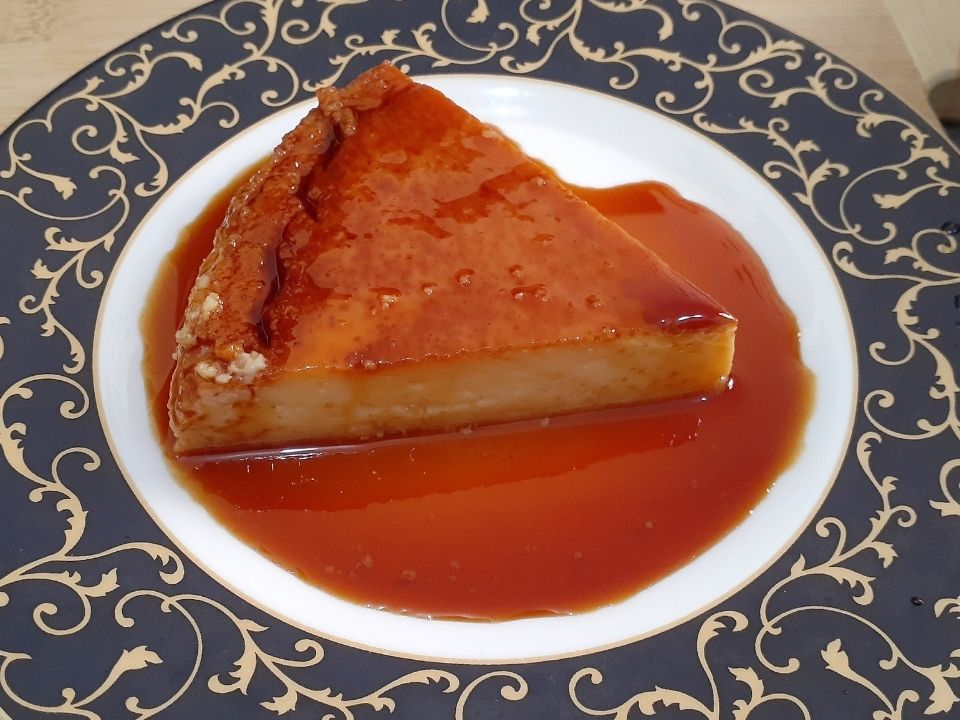 Vanilla Flan Recipe Steamed Flan Smooth And Silky Passionlog