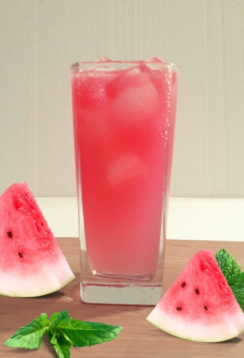watermelon mojito with sprite